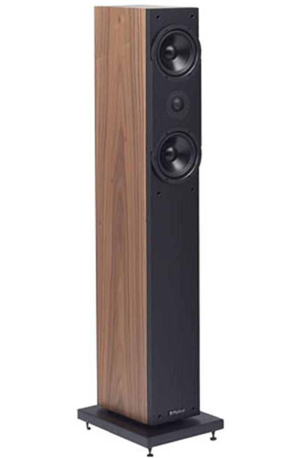 pack enceinte colonne highland oran 4305 noyer x2 3209881. Black Bedroom Furniture Sets. Home Design Ideas