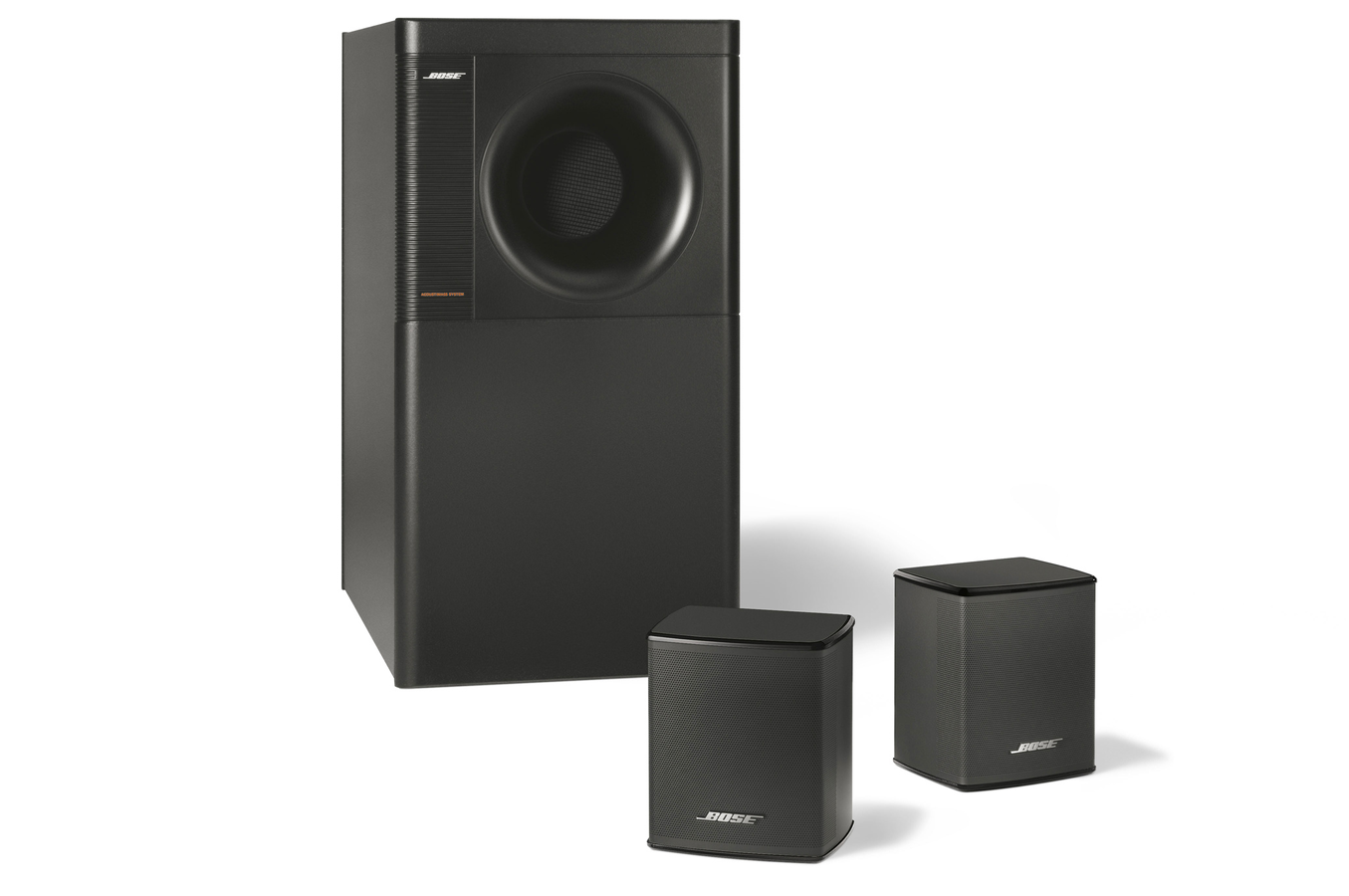enceinte compacte bose acoustimass 3 serie 5 black. Black Bedroom Furniture Sets. Home Design Ideas