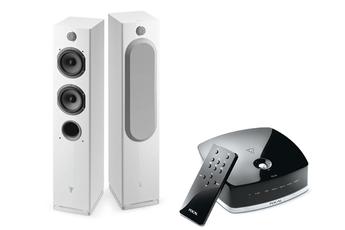 Enceinte Bluetooth / sans fil PACK EASYA BLANC + HUB Focal