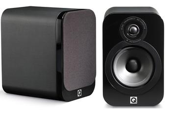 Enceinte compacte Q3020 CUIR NOIR x2 Q Acoustics