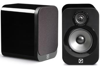 Enceinte compacte Q3020 NOIR LAQUE x2 Q Acoustics