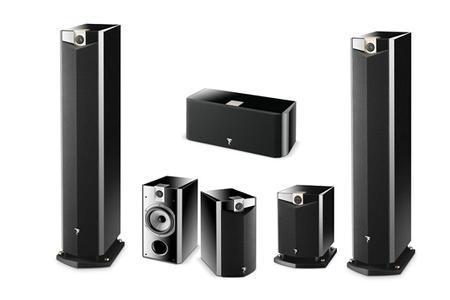 ensemble home cin ma focal pack 5 1 836vw sw800 darty. Black Bedroom Furniture Sets. Home Design Ideas