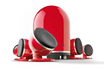 Focal DôME PACK 5.1 RED photo 1