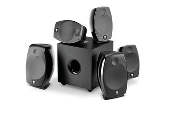 Pack enceintes Home Cinéma Focal PACK SIB EVO ATMOS 5.1.2 BLACK