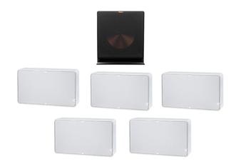 Pack enceintes Home Cinéma Jamo PACK D500 BL +R115SW