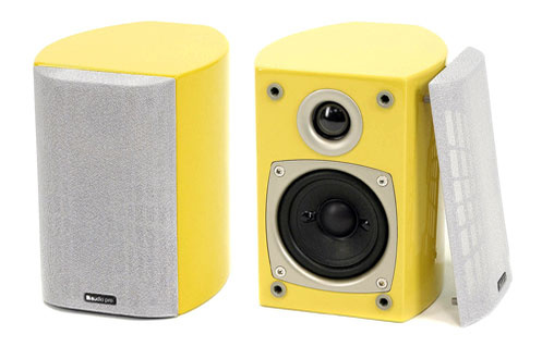 Audio Pro ALLROOM SAT JAUNE X2