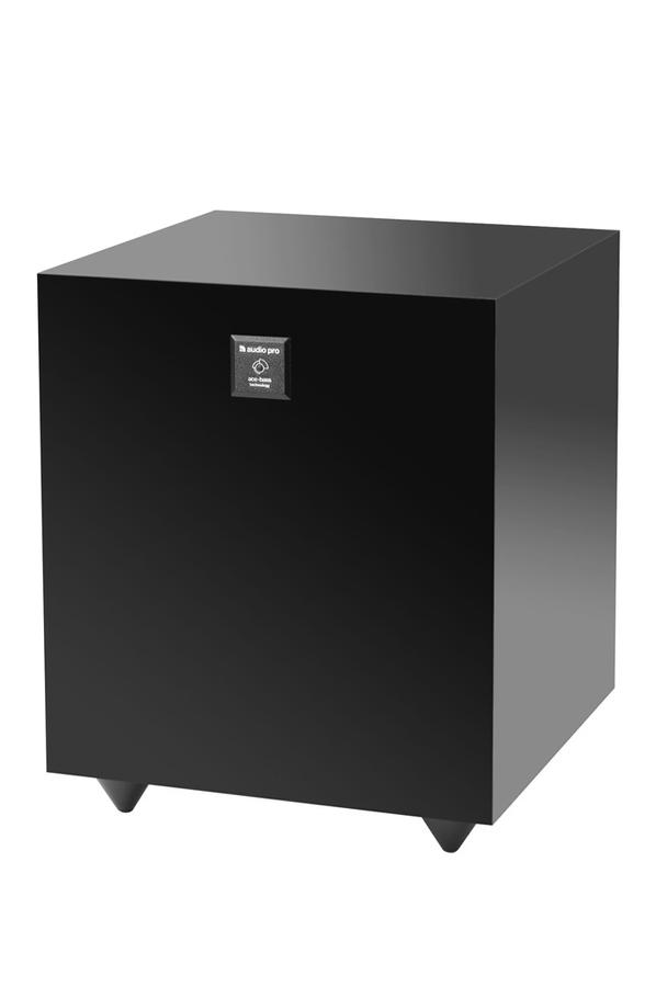 caisson de basses audio pro sub noir subb119 3108546 darty. Black Bedroom Furniture Sets. Home Design Ideas
