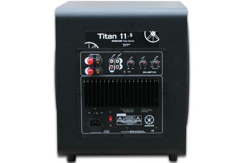 Mosscade TITAN 11.5 NOIR