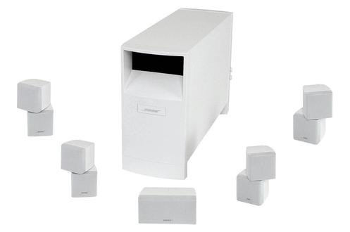 Pack d'enceintes ACOUSTIMASS 10 S4 BLANC Bose