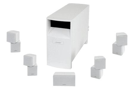 pack d 39 enceintes bose acoustimass 10 s4 blanc darty. Black Bedroom Furniture Sets. Home Design Ideas