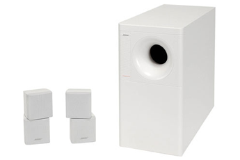 Pack d'enceintes Bose ACOUSTIMASS 5 Series III Blanc