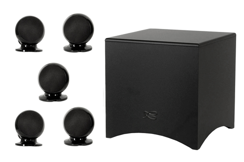 pack d 39 enceintes cabasse pack 5 1 alcyone noir alcyone. Black Bedroom Furniture Sets. Home Design Ideas