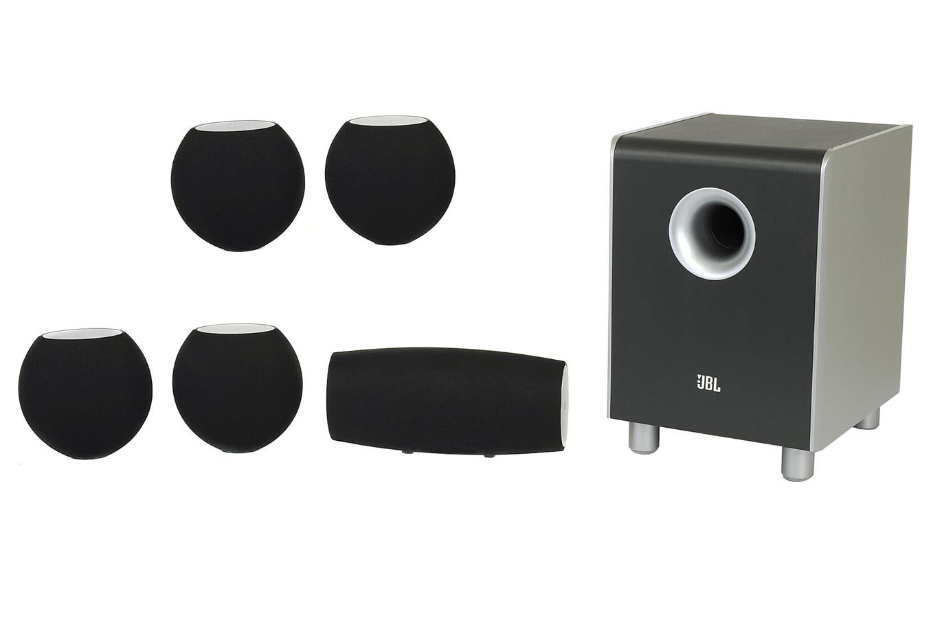pack d 39 enceintes jbl pack 5 1 cs 460 noir cs460 2750767. Black Bedroom Furniture Sets. Home Design Ideas