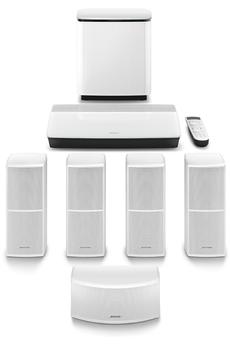 Pack ampli et enceintes Home Cinéma Bose LIFESTYLE 600 WHITE