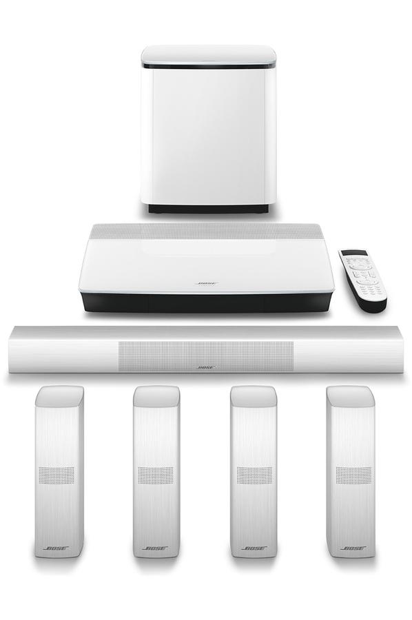 Pack Ampli Enceintes Bose Lifestyle 650 White 4239342