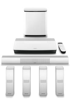 Pack ampli et enceintes Home Cinéma Bose LIFESTYLE 650 WHITE