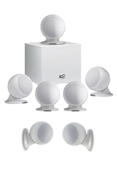 Pack enceintes Home Cinéma Cabasse PACK ALCYONE2 5.1.2 WHITE