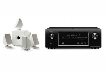 Pack Ampli + enceintes AVRX1000 + SIB&CUB3W Denon