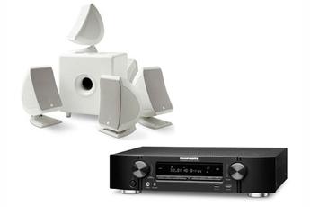 Pack Ampli + enceintes NR1504B + SIB&CUB3W Marantz