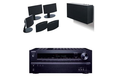 Pack Ampli + enceintes TX-NR414B+A101HCS5 Onkyo