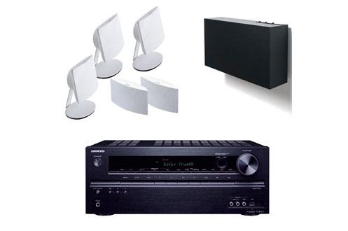 Pack Ampli + enceintes TX-NR414B+A101HCS5 W Onkyo