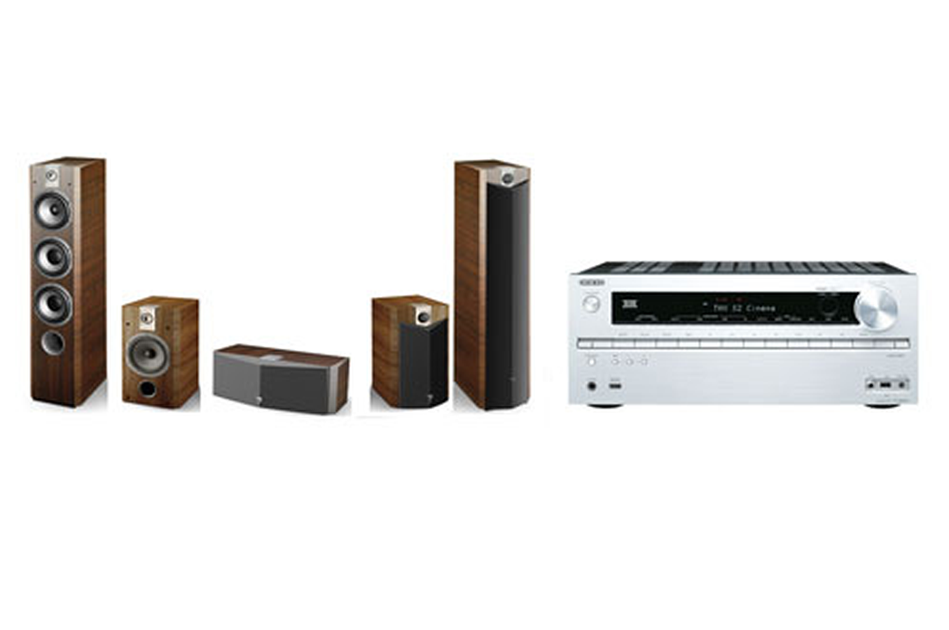 pack ampli enceintes onkyo txnr616s pack 726v 3627888 darty. Black Bedroom Furniture Sets. Home Design Ideas