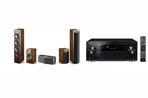 Pack ampli enceintes pioneer sc2023kno 726pack5 0 - Meuble pour ampli home cinema ...