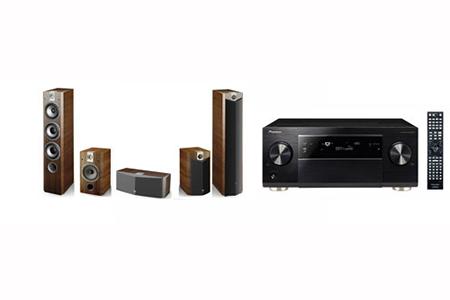 pack ampli enceintes pioneer sc2023kno 726pack5 0. Black Bedroom Furniture Sets. Home Design Ideas