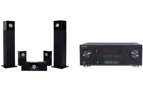 Pack Ampli + enceintes VSX922+CUBE 5.0 Pioneer