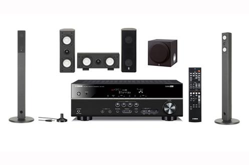 Pack ampli enceintes yamaha rxv375 ns ap7800 5000971 - Meuble pour ampli home cinema ...