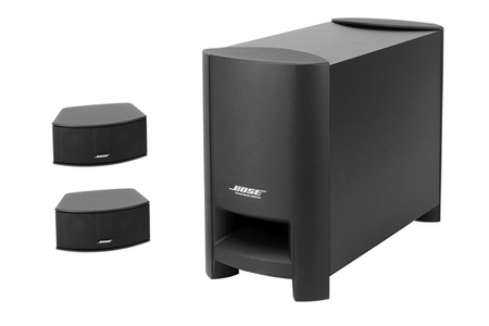 enceinte pour tv bose cinemate gs darty. Black Bedroom Furniture Sets. Home Design Ideas
