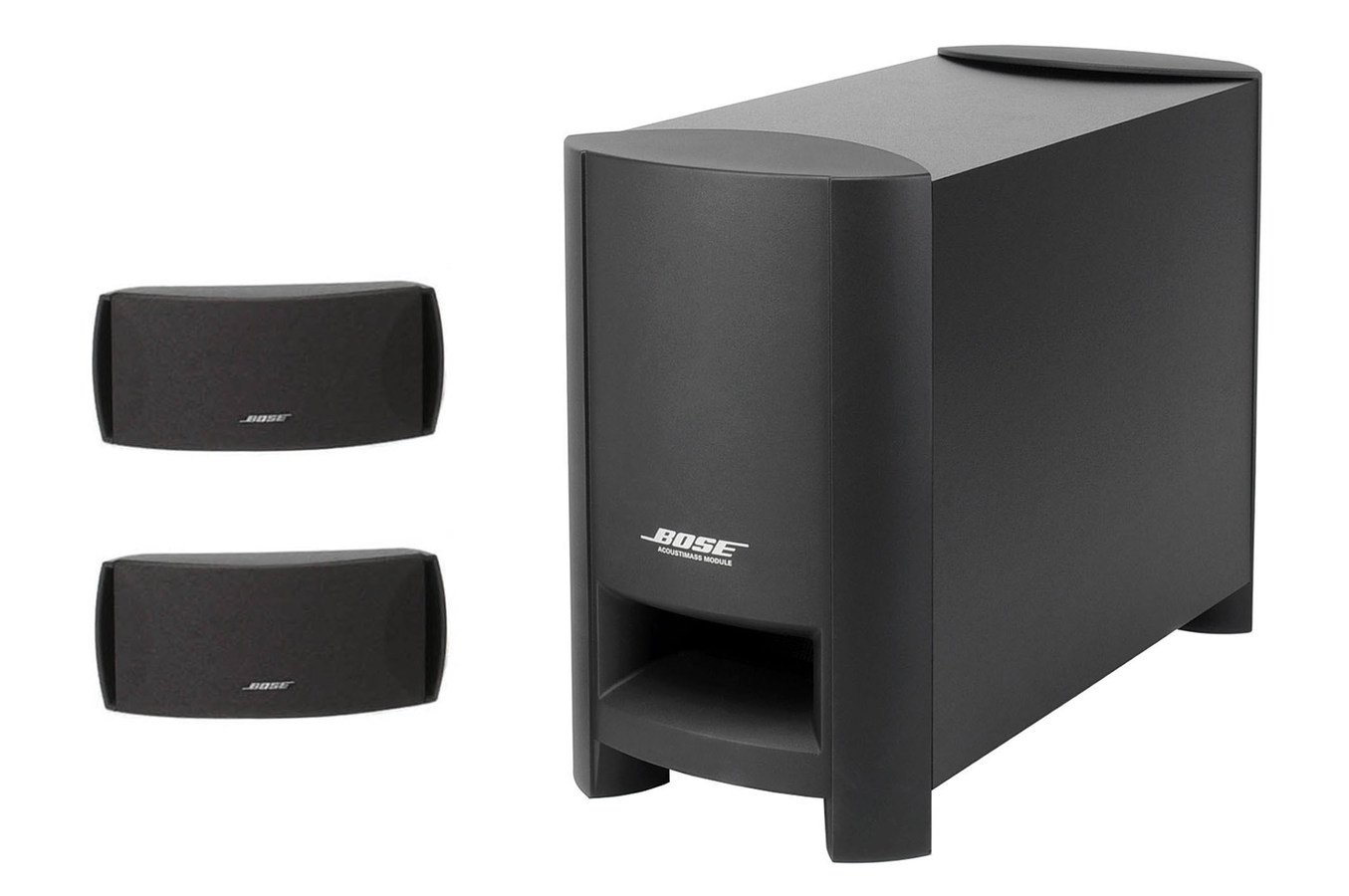 enceinte pour tv bose cinemate series ii cinemateii. Black Bedroom Furniture Sets. Home Design Ideas