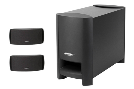 enceinte pour tv bose cinemate series ii cinemateii darty. Black Bedroom Furniture Sets. Home Design Ideas