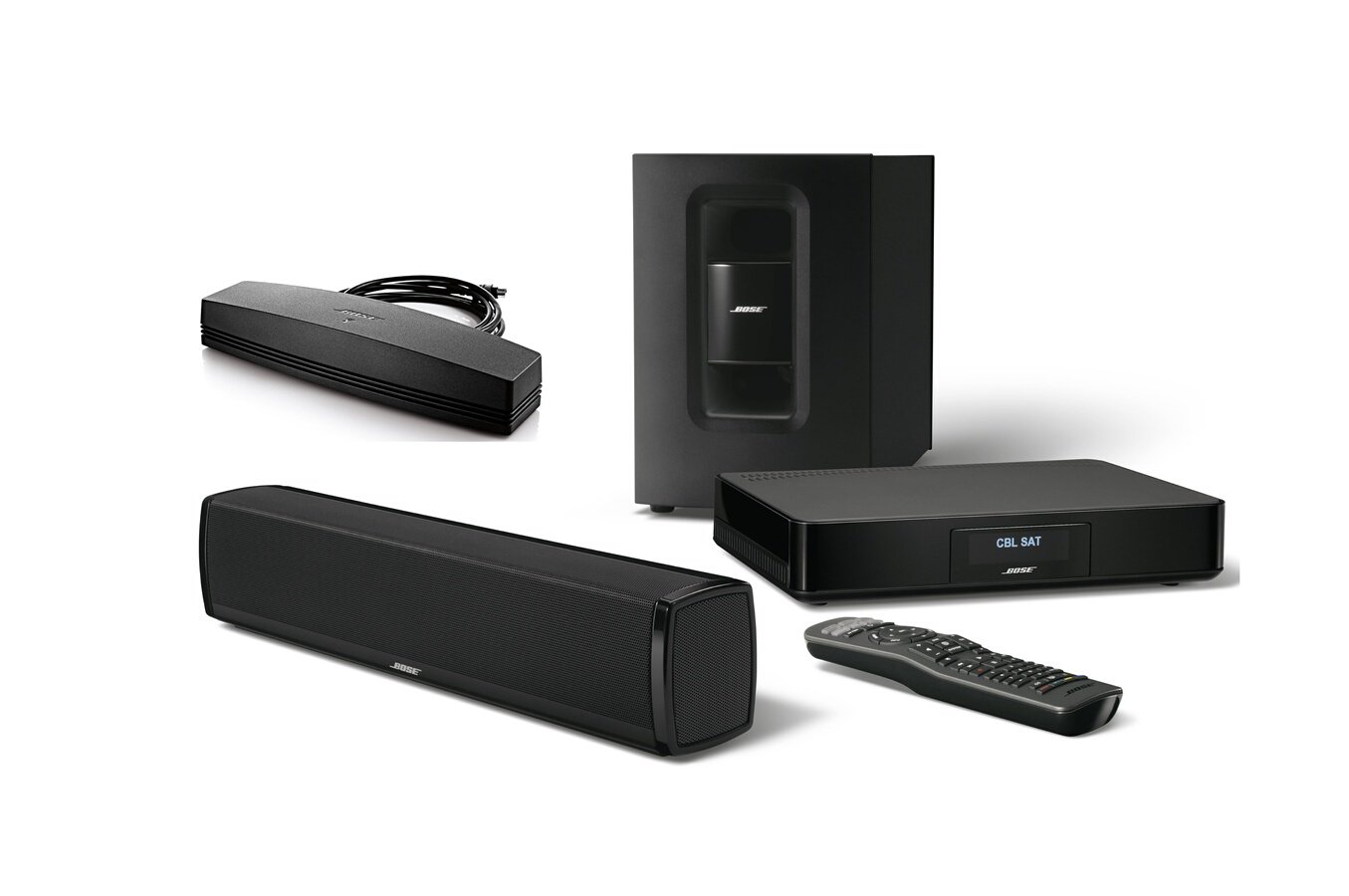 barre de son bose cinemate 120 adaptateur soundtouch. Black Bedroom Furniture Sets. Home Design Ideas