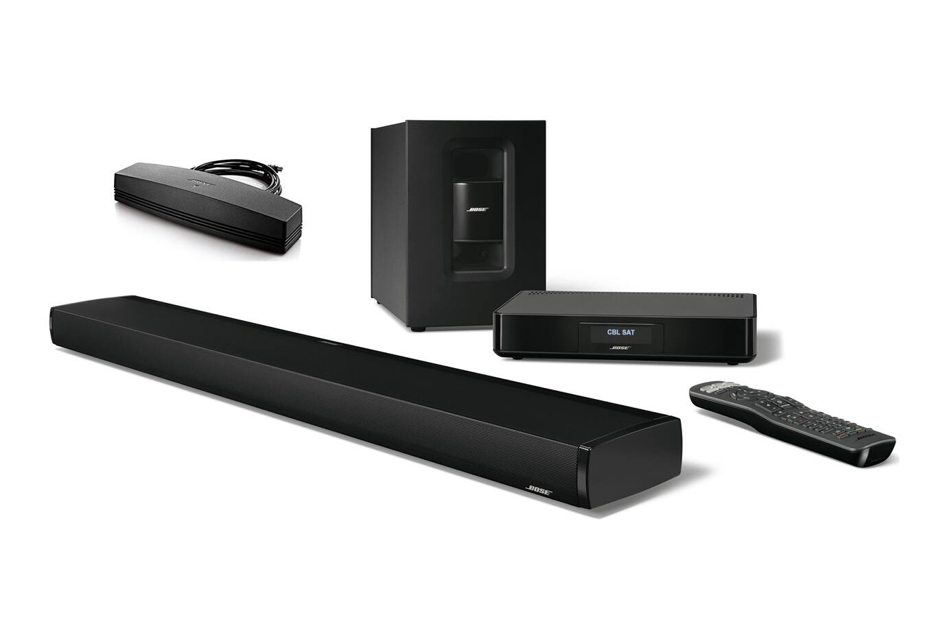 barre de son bose cinemate 130 adaptateur soundtouch. Black Bedroom Furniture Sets. Home Design Ideas