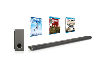 Barre de son NB3540 + 3 BLU-RAY Lg