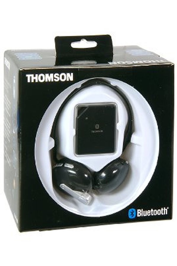 casque tv sans fil thomson wbb101 bluetooth wbb101. Black Bedroom Furniture Sets. Home Design Ideas