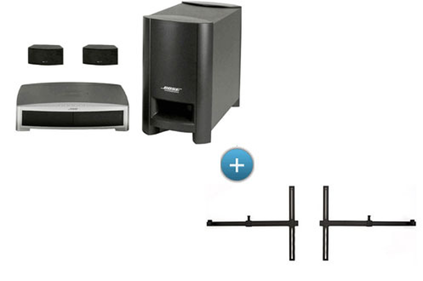 home cin ma tout en un bose 3 2 1 gs s3 noir ubtv20 3. Black Bedroom Furniture Sets. Home Design Ideas