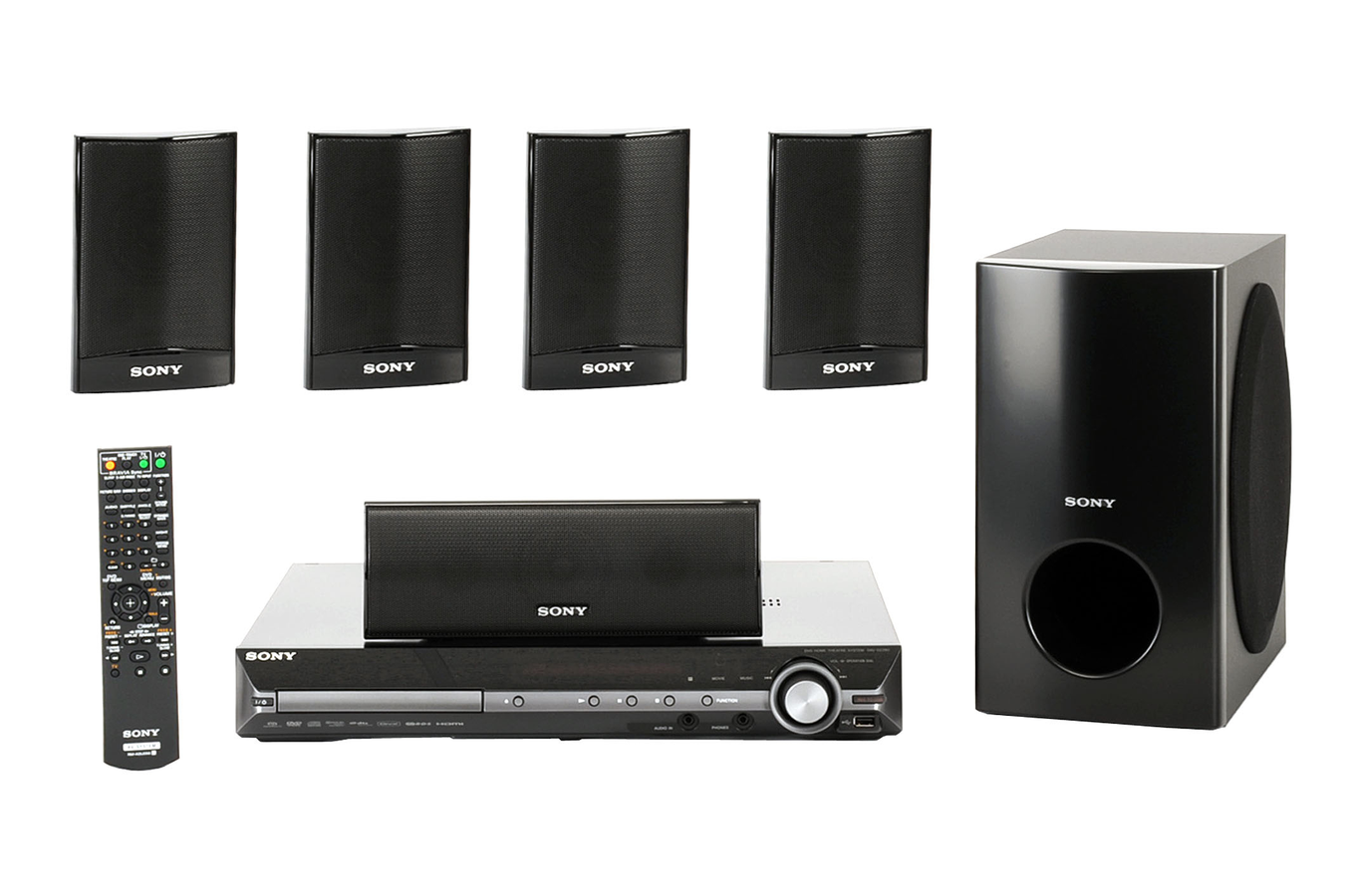Home cin ma tout en un sony dav dz280 davdz280 2851547 - Salon hifi home cinema ...