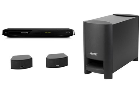 enceinte pour tv bose cinemate gs bdp2980 darty. Black Bedroom Furniture Sets. Home Design Ideas