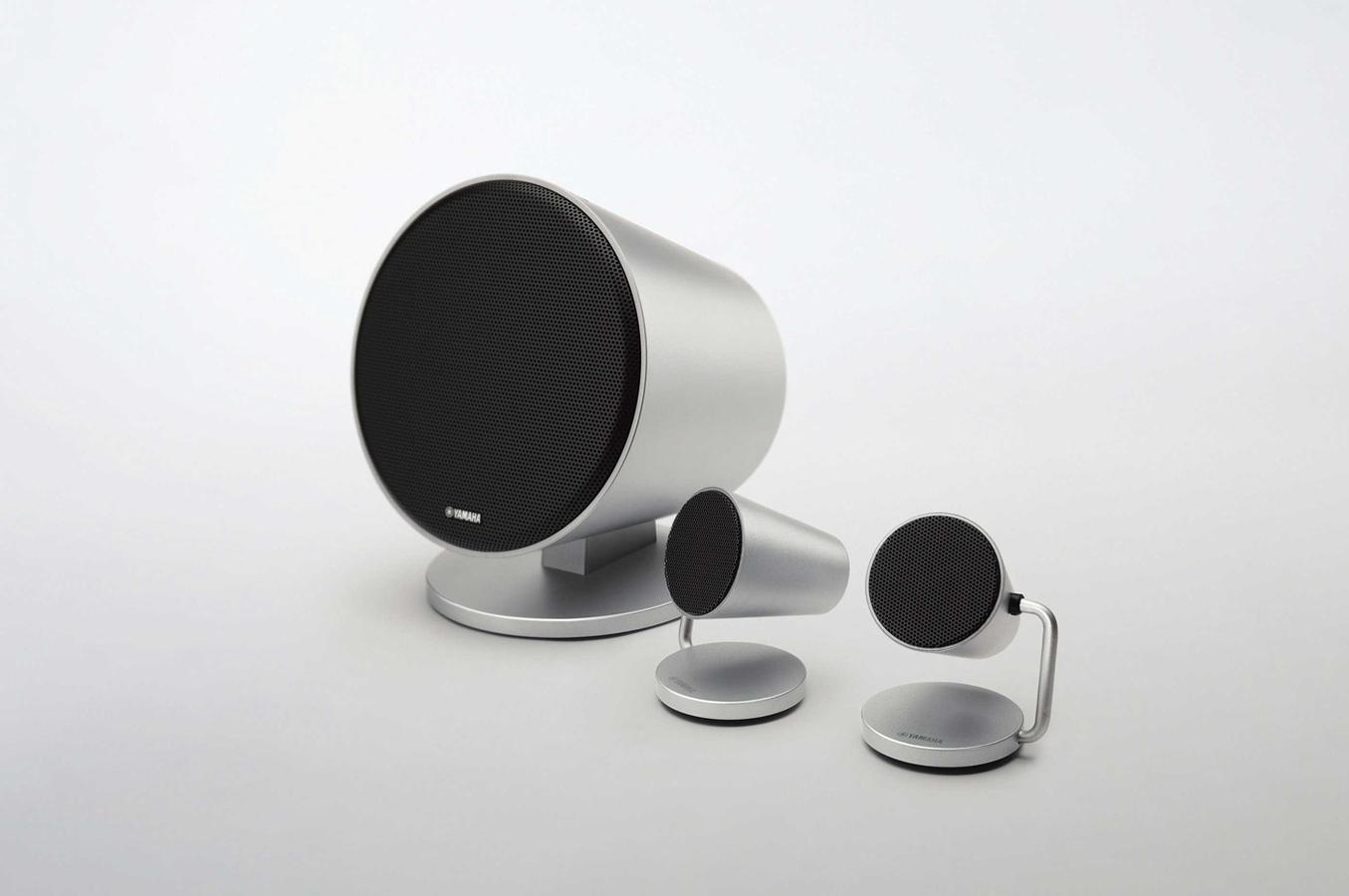 enceinte pour tv yamaha nxb150 silver 4054636 darty. Black Bedroom Furniture Sets. Home Design Ideas