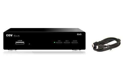 Recevez vos programmes de la TNT en haute définition. Le récepteur numérique TNT HD Etimo STL-2 de CGV vous permet de recevoir les chaînes gratuites de la TNT en Haute Definition.Il bénéficie d'un tuner TNT HD Mpeg4 intégré, qui permet de recevoir gratuit