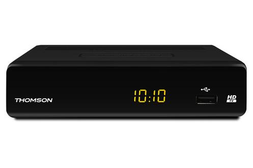 Compatible MPEG-4, e récepteur DVB-T THT504+ vous permet de recevoir l'ensemble des chaînes gratuites de la TNT en HD Le Thomson THT 504+ est compatible Dolby Digital Plus pour profiter d'une très bonne qualité de son en connectant le récepteur à un Home