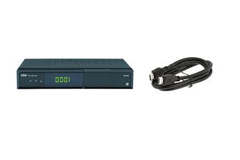Récepteur TNT par satellite SAT HD-W5 TNTSAT + CABLE HDMI Cgv