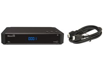 Récepteur TNT par satellite HD CONNECT FRANSAT + CABLE HDMI Meosat