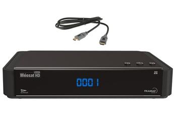 Récepteur TNT par satellite MEOSAT HD + HDMI 1,5M Meosat