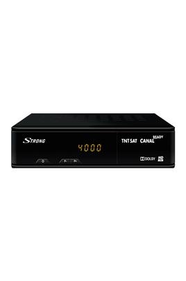 Récepteur TNT HD TNTSAT Canal Ready Enregistrement sur clé USB (PVR) Prises : 1 HDMI, 1 péritel, 1 coaxial, 1 AV (RCA)
