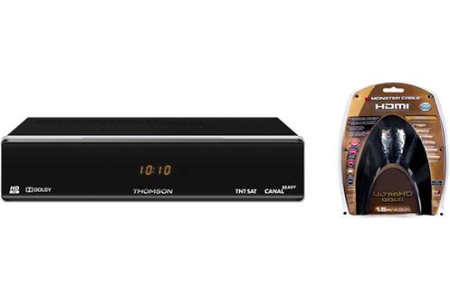 THS804 TNTSAT + CABLE HDMI 4K