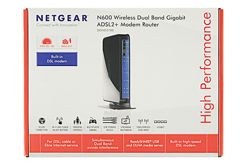 Netgear DGND3700 Firewall ADSL2+ Wireless-N Dual Band