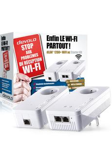Réseau par courant porteur DLAN1200+WIFI STARTER Devolo